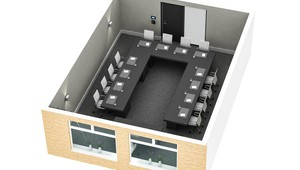 Beemster meeting room U-shape Hotel Volendam