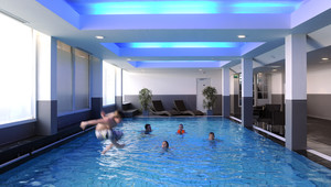 Swimmingpool indoor